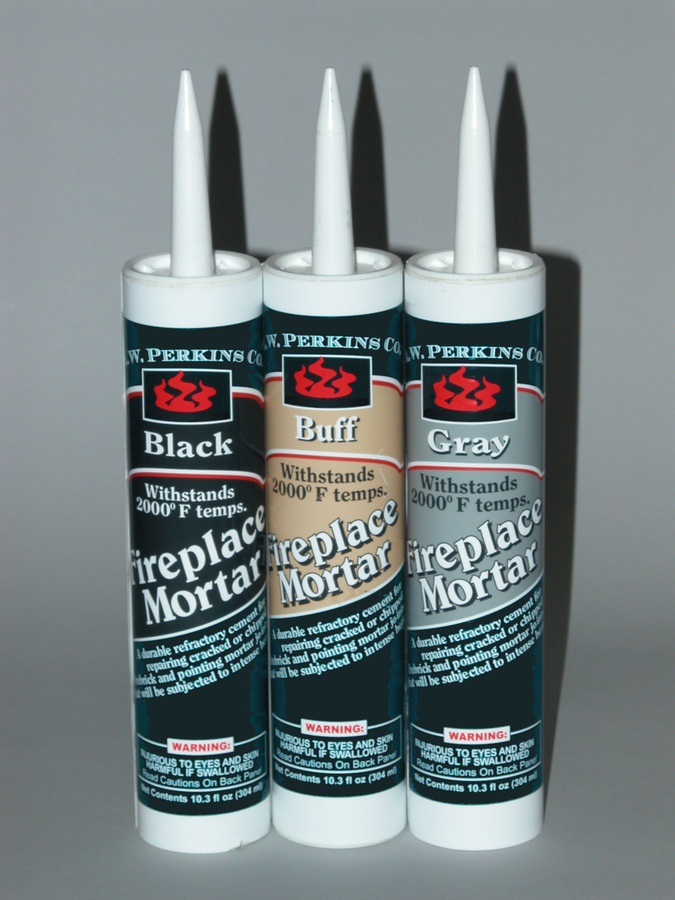 Fireplace Mortar -black