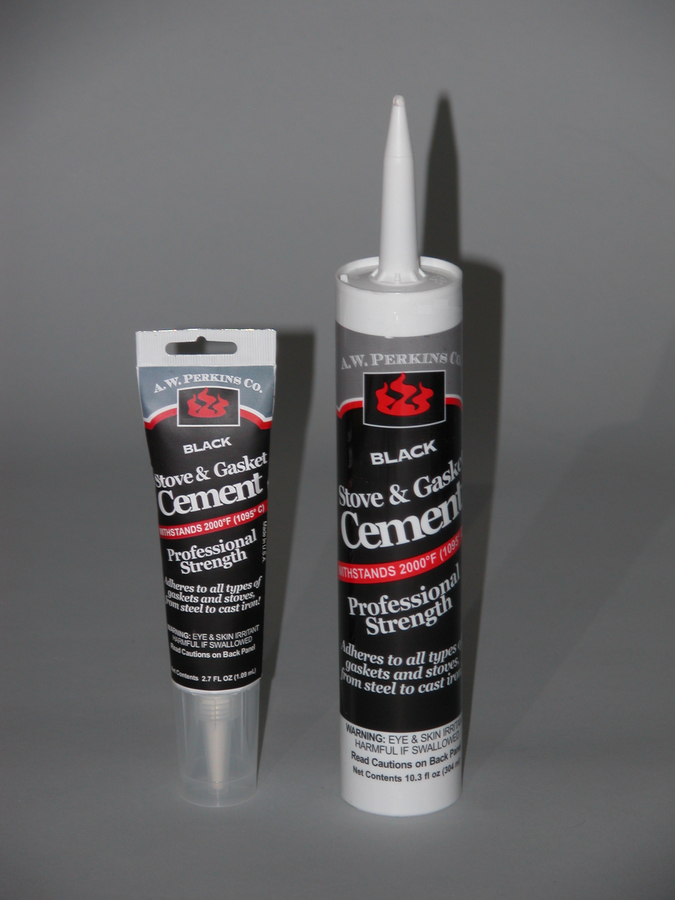 Stove Gasket Cement- For fiberglass Gaskets and stove repairs-tube