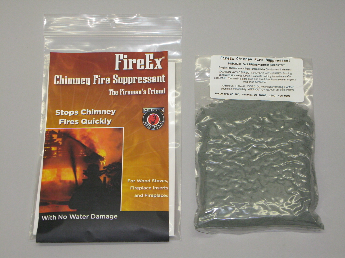 FireEx Chimney Fire Supressant-each