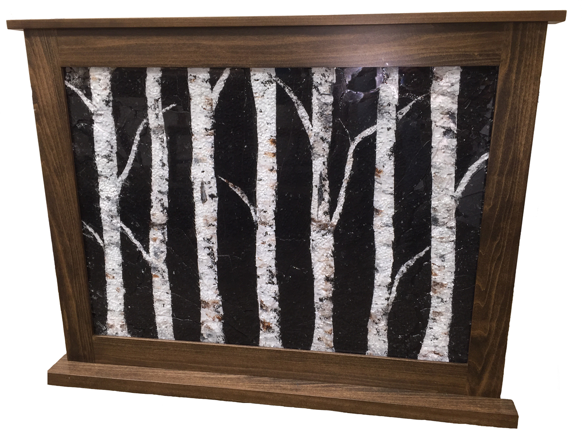 shattered glass fireplace covers rodtech usa
