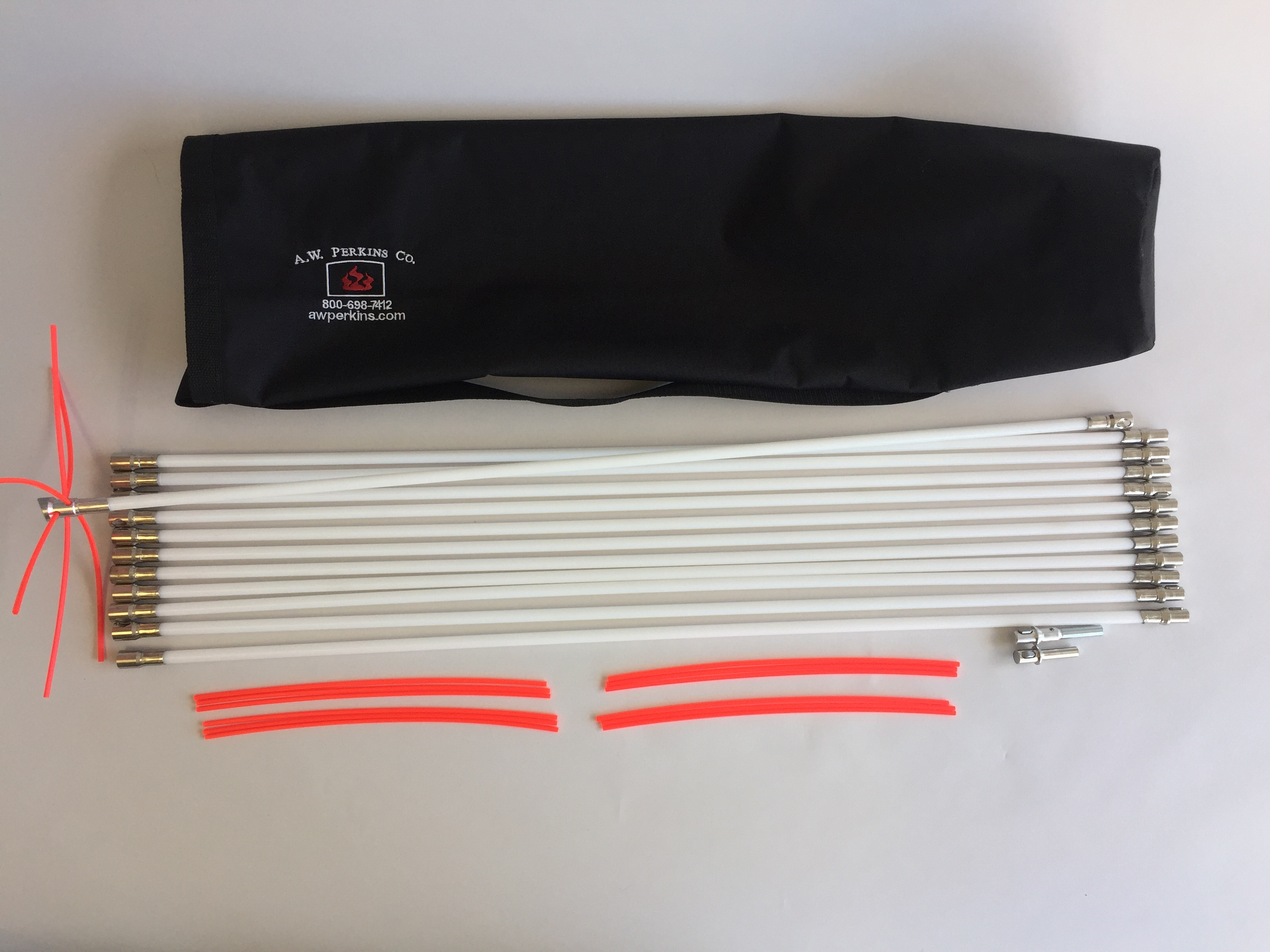 "7163KIT Liner/Class A 6"" Cleaning Kit with 7/16"" dia. Slick rods"