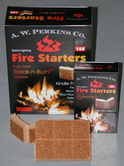 Break N' Burn Fire Starter Squares-144 squares